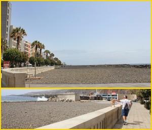 Der im Sommer 2017 eingeweihte Strand von Santa Cruz de La Palma: Im südlichsten Teil wird eine Hundezone eingerichtet - eine Dusche steht schon. Fotos: La Palma 24