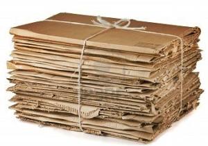 Kartons von Firmen: werden in Santa Cruz abgeholt.