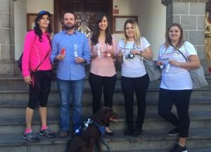 Los Llanos: Die Stadtverwaltung gab 2.000 Gratis-Kits an Hundebesitzer aus.