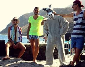 Locoplaya: Drei Rapper aus El Hierro mischen La Palma auf. Foto: Band