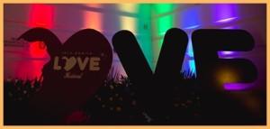Regenbogen-Zeit: Das Isla Bonita Love Festival 2017 ist eröffnet.