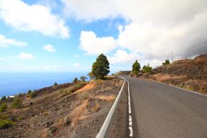 Die LP-2 auf La Palma: Kanarenregierung genehmigt vier Millionen Euro zusätzlich für die vielen Baustellen. Foto: Obras Públicas La Palma