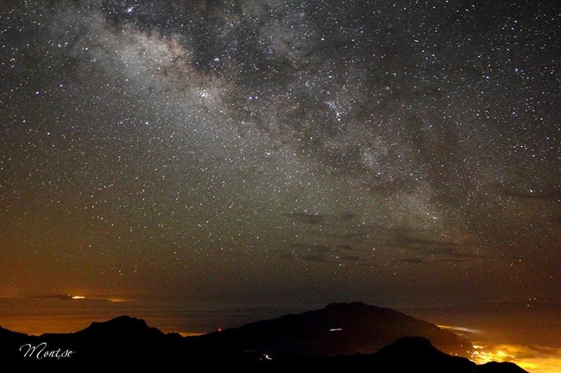 Milchstraße über La Palma: Der Blick in unsere Galaxie schafft auch Arbeitsplätze. Foto: Montserrat Alejandre
