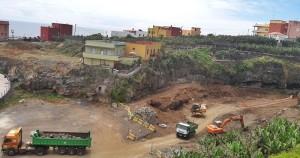 Parkplatzbau: San Andrés y Sauces will die Besucher der Playa Espíndola und der Naturschwimmbecken von Charco Verde