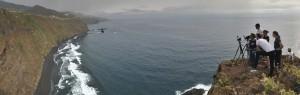 Immer mehr Filmteams entdecken La Palma: zur Zeit drehen