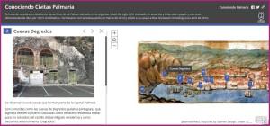 Santa Cruz de La Palma: Geschichts-App.