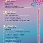 Plan der Konzerte in Los Llanos.