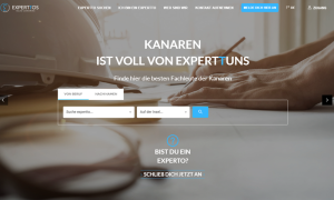 Zur Darstellung und zum Finden von Profis: Das neue Portal experttos.com beginnt sich zu füllen.