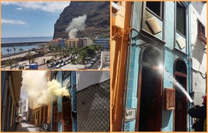 Am Mittwoch: In Tazacorte brannte es gleich zwei Mal. Foto: Bomberos de La Palma