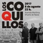 In Puerto Naos: Die schon etwas in die Jahre gekommenen Los Coquillos rocken immer noch wie einst.