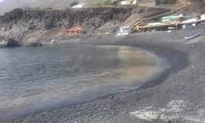 Mikroalgen: In der vergangenen Woche erschienen sie an Stränden in Fuencaliente - jetzt vor der Küste von Santa Cruz de La Palma.