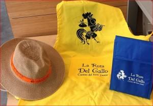Preise der Ruta del Gallo: Schöne Andenken an die gastronomische Sommerreise werden unter den Gästen verlost, die die Tapas bewerten.