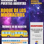 Für Garafianer: Bustransfer zum Roque.