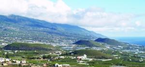 Die vier Vulkane im Aridanetal: seit vielen Jahren ohne Verordnung. Foto: Cabildo de La Palma