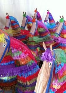 Caballos Fufos: Die Crazy Horses von Tazacorte warten auf ihren großen Auftritt.