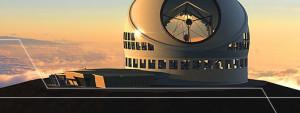 Das Thirty Meter Telescope wurde von Wissenschaftlern und Ingenieuren aus der ganzen Welt geplant: Ziel ist das fortschrittlichste und leistungsstärkste optische Teleskop der Erde zu bauen, um Objekte in unserem Sonnensystem und Galaxien bis hin zum Beginn der Zeit zu studieren. Foto: TMT Konsortium