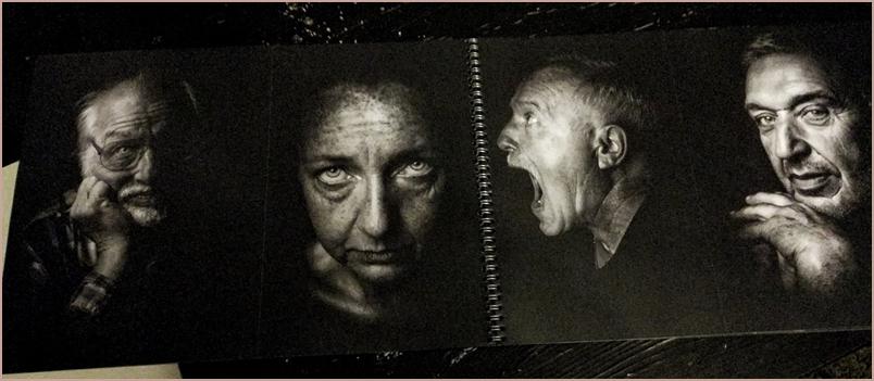 Porträts von Emilio Barrionuevo: Das tiefe Innere oder Gefühle eines Moments ins Bild gebannt.