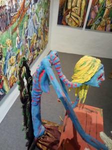 Galería García de Diego in Los Llanos: feiert ihren ersten Geburtstag. Foto: Galerie