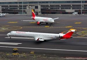 Iberia Express: täglich Flüge von Madrid nach Santa Cruz de La Palma. Foto: Carlos Díaz La Palma Spotting