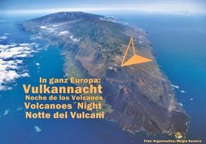 Eine informative Fiesta rings um die Feuerspucker im Süden von La Palma: Die Vulkannacht bricht an. Foto: Organisation