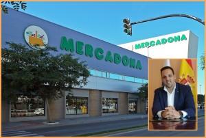 Brena Altas Bürgermeister Jonathan Felipe ist zufrieden: 2018 soll der erste Mercadona-Markt auf La Palma in La Grama eröffnen. Fotos: Wikipedia/Brena Alta