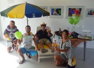 Photocall in den CIT i-Punkten auf La Palma zum Welttag des Tourism