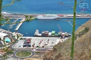 Hafen Santa Cruz de La Palma: Der Bereich für die Handelsschifffahrt soll vergrößert und mit einer Freizone versehen werden.