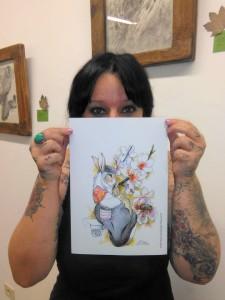 Sonia: zeichnet magische Tiere.