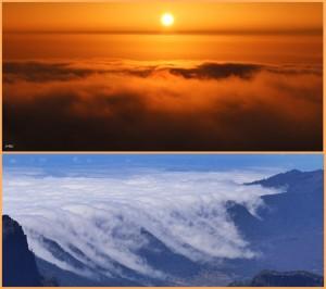An Sonne und Wind mangelt es auf La Palma nicht: Der jetzt vom Inselrat verabschiedete Energieeffizienzplan setzt unter anderem auf die verstärkte Gewinnung von erneuerbaren Energien. Fotos: Michael Kreikenbom
