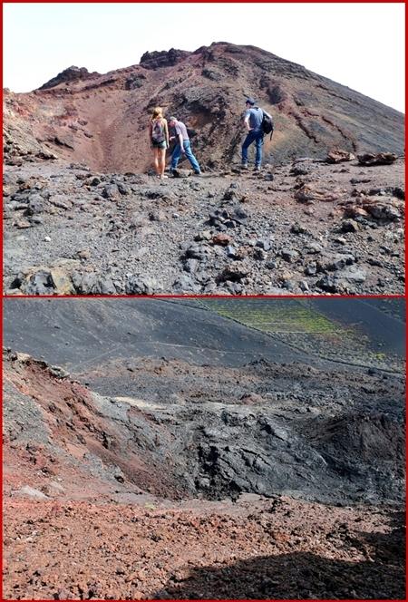 Vulkan Teneguía - Zentren 4 und 5: