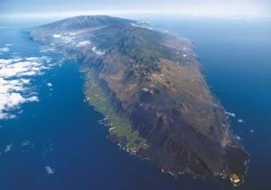 Die Cumbre Vieja erstreckt sich bis in den Süden von La Palma: In Bereich dieses aktiven Vulkans rumort es