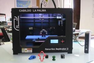 Rent-a-3D-Drucker: Cabildo verleiht das gute Stück an die Schulen.