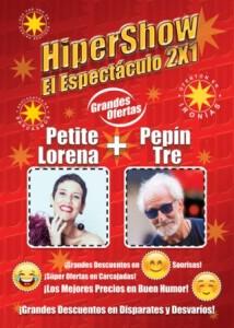 Humorvolle Show: Petite Lorena und Pepin Tre im Circo de Marte.