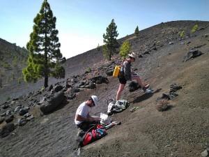 Die Cumbre Vieja ist stabil, und derzeit gibt es keine Anzeichen für einen Vulkanausbruch trotz der vielen Mikrobeben in den vergangenen zwei Wochen: Die INVOLCAN-Messungen der Kohlendioxidwerte, die aus dem Vulkangebäude aufsteigen, erwiesen sich als normal. Foto: INVOLCAN