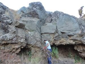 Felsritzungen in El Verde: wieder schick! Foto: Cabildo