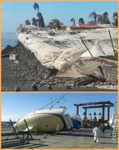 Sturmschäden auf La Palma: Jedes Jahr gibt es starke Winde, die Verwüstungen anrichten. Fotos: Cabildo/Tazacorte