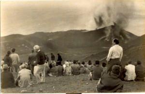 Der letzte Vulkan, der auf La Palma ausbrach, war der Teneguía: Die gemäßigte Eruption beobachteten die Palmeros damals beim Picknick aus kurzer Entfernung.