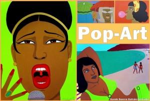 Im Contacto-Büro in Los Llanos: Pop-Art-Show von Acenk Guerra.