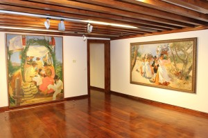 Ausstellungsraum der CajaCanarias in Santa Cruz: super Podium für Künstler direkt an der Plaza de Espana. Foto: CajaCanarias