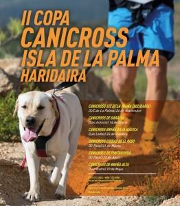 Hund-Mensch-Trailruns: liegen voll im Trend, und La Palma hat jetzt schon eine Inselmeisterschaft, bei der jedes Jahr mehr Gemeinden mitmachen.