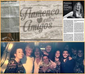 Die Sommer-Tournee der Flamenco entre Amigos war ein voller Erfolg: sehr gute Presse und volle Säle lassen die Band optimitisch nach vorn blicken. Fotos: zur Verfügung gestellt von Pedro