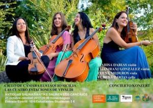 Vivaldis Vier Jahreszeiten: Streichkonzert in Los Cancajos.