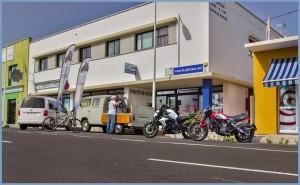 Das La Palma 24-Büro in Todoque: Wer auf der Insel ist und sich informieren möchte, ist hier stets willkommen.