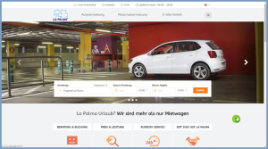 New website of La Palma 24: cars, motocycles and E-Bikes easy renting and booking.