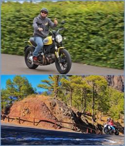 La Palma 24-Chef Miki: In seiner Freizeit tourt er mit dem Bike über La Palma und kann seinen Kunden natürlich gute Tipps für Touren geben.
