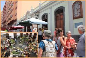 Die Markthalle von Santa Cruz de La Palma, genannt La Revova: quirliger Treffpunkt in der Hauptstadt. Fotos: La Palma 24