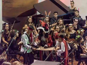 Peter Pan und die Welt des Musicals: intoniert von der Jugendphilharmonie Teneriffa auf La Palma. Foto: Orchesta Filarmónica Juvenil