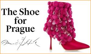 Schuhe von Manolo Blahnik: einmalig!