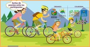 Radtour in Brena Baja: für die ganze Familie.