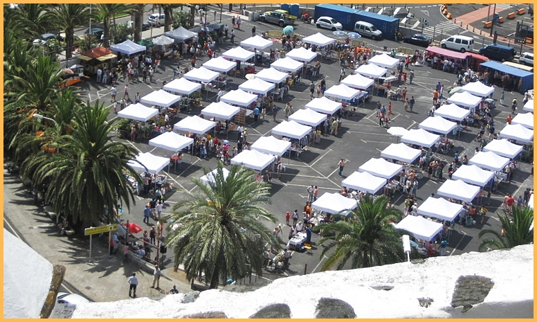 Der Flohmarkt von Santa Cruz de La Palma: